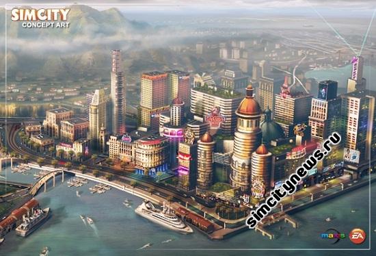 Режим мультиплеера в SimCity 5