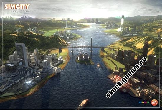 SimCity 5 - выход в 2013 году