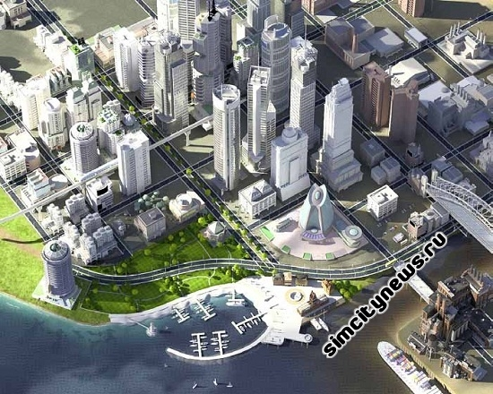 Внешний вид будущей серии SimCity 2013