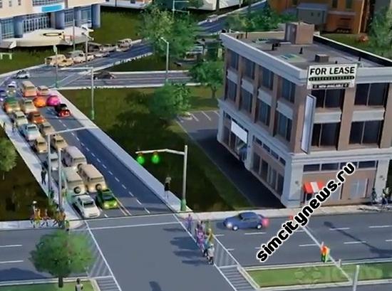Дороги в SimCity, звук дороги