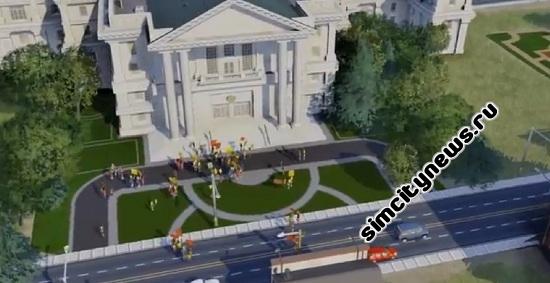 Игровое видео SimCity 5