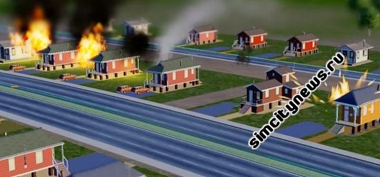 Огонь в SimCity 5
