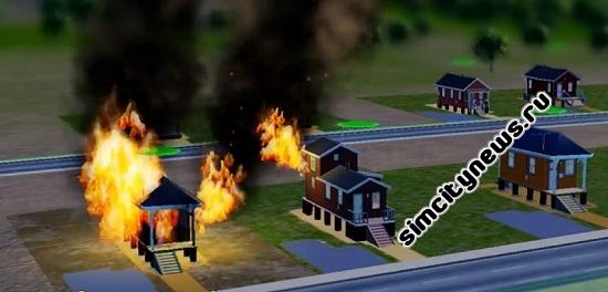 Пожар в SimCity 5