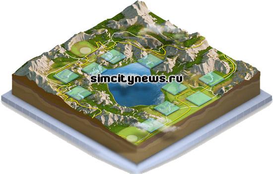 Гранитовое озеро - регион SimCity