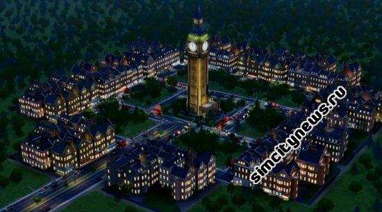 Английский город SimCity