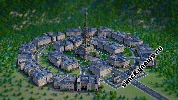Французский город SimCity