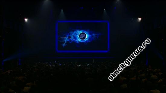 Начало презентации Electronic Arts