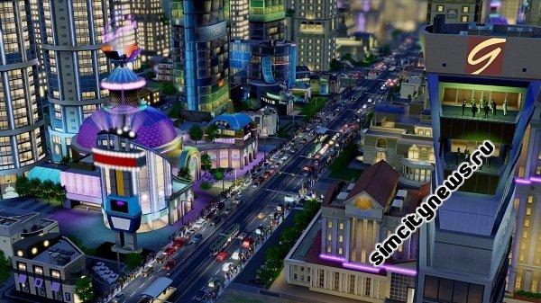 Виды транспорта в новой SimCity
