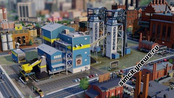 Новые здания SimCity