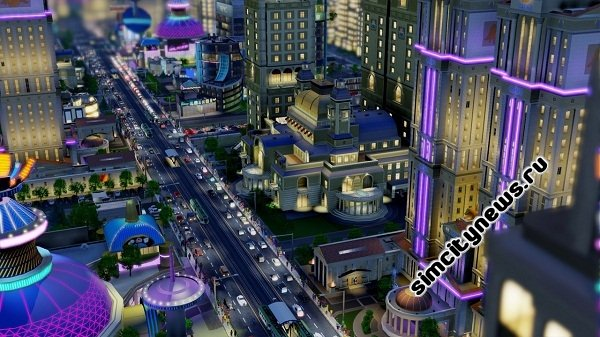 Транспорт SimCity 2013