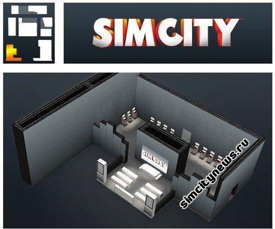 Стенды SimCity в преддверии выставки