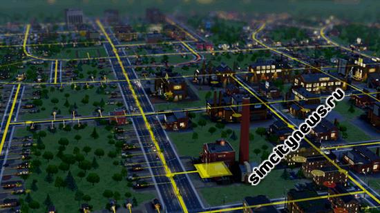 Городская жизнь в СимСити