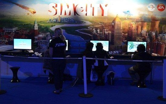 EA представила SimCity Eurogamer Expo 2012