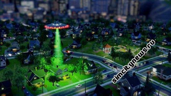 Летающая тарелка (НЛО) SimCity