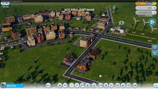 Премьерный видео показ игры SimCity