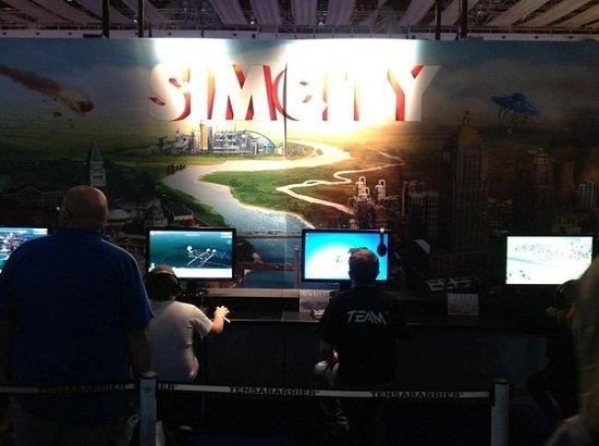 SimCity на выставке Eurogamer Expo 2012