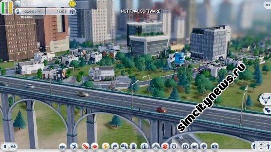 Мосты и дороги SimCity