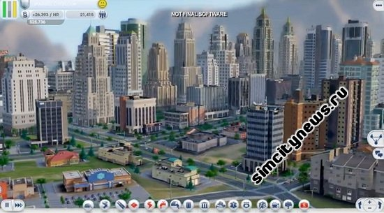 SimCity видео