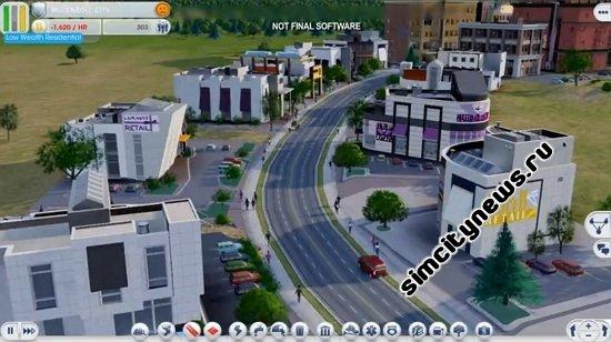 Видео геймплей SimCity