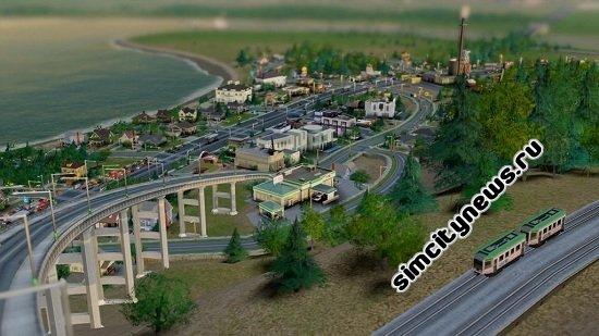 Дорожные развязки SimCity