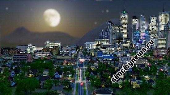Красивый город SimCity