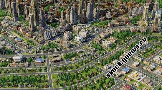 Плотность зоны и дороги SimCity