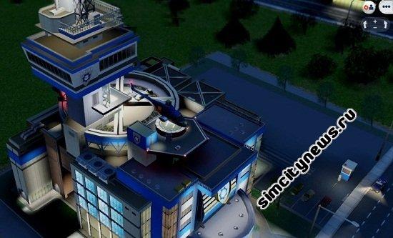 Полицейский участок SimCity