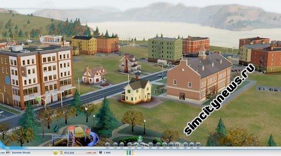 Бета SimCity