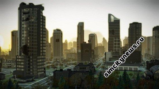 Черные здания SimCity