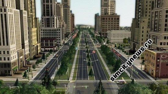 Дороги, развязки, перекрестки SimCity