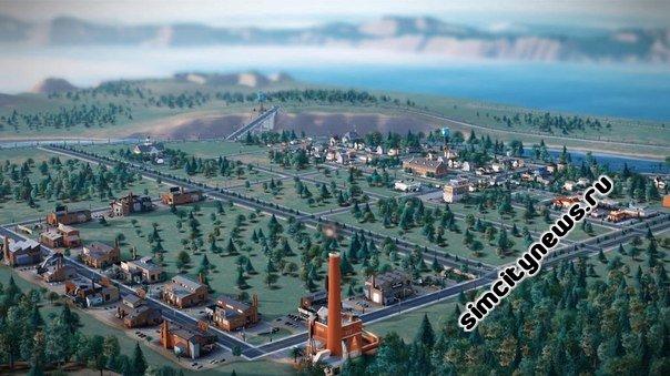 Фабрика в SimCity