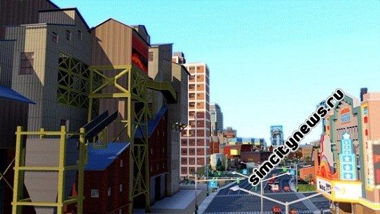 Городская улица SimCity