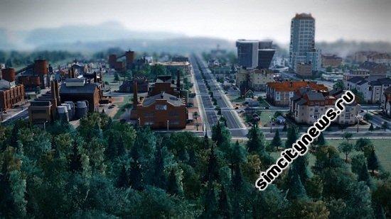 Граница двух зон города