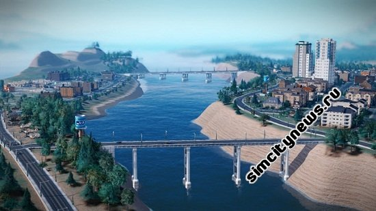 Набережная SimCity