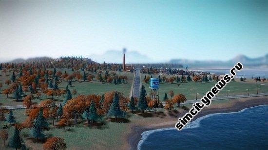 Песчаный берег SimCity