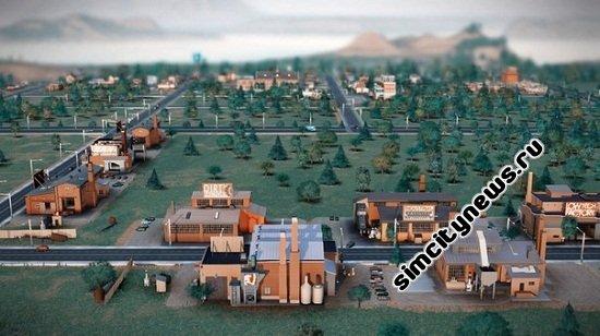 Промышленность SimCity