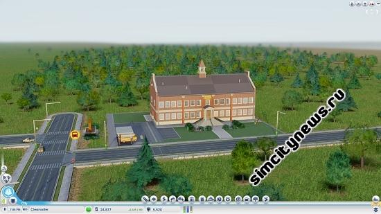 Школа SimCity