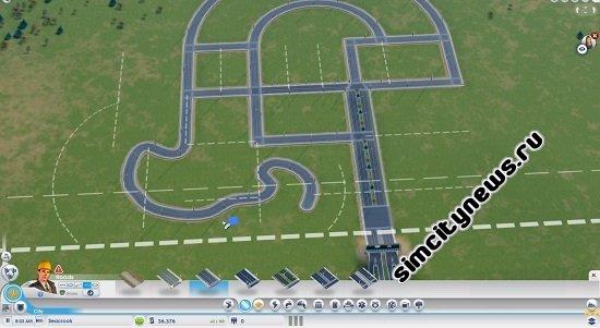 Строительство криволинейных дорог