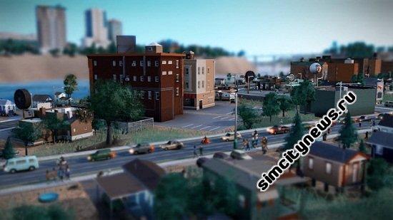 Улица на берегу реки