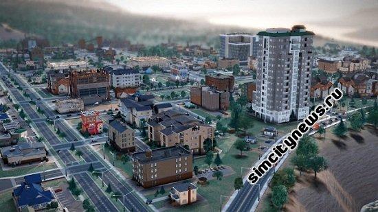 Жилое здание SimCity
