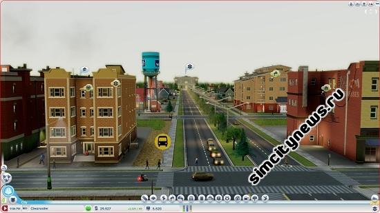 Жителям SimCity нужна вода