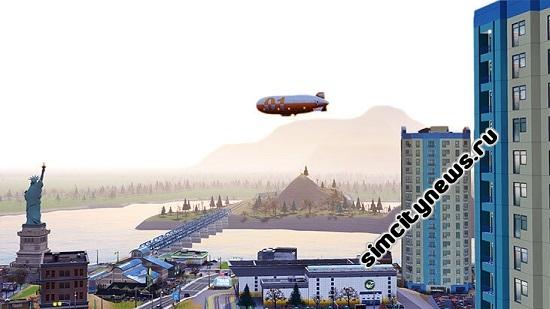 Дирижабль SimCity