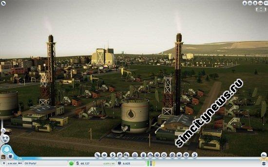 Добыча нефти SimCity