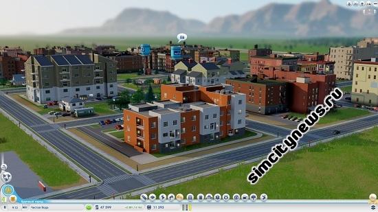 Дома SimCity
