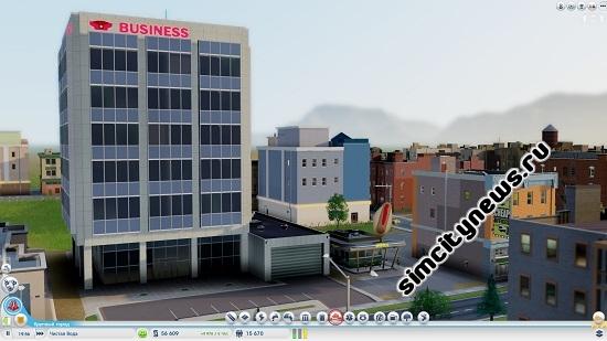 Коммерческое здание