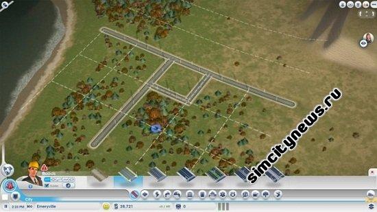 Линейка дорог SimCity