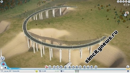 Мост в игре SimCity