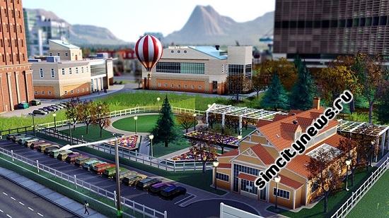 SimCity дополнение воздушный шар