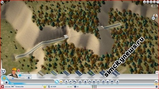 Тоннель SimCity
