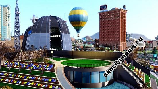 Воздушный шар SimCity